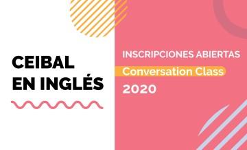 Inscripciones abiertas para Conversation Class 2020 de Ceibal en Inglés
